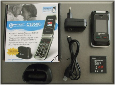 telephone portable senior geemarc 8500