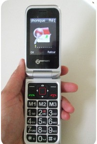 telephone portable senior geemarc cl8500